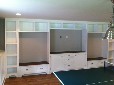 Game Room Built-Ins