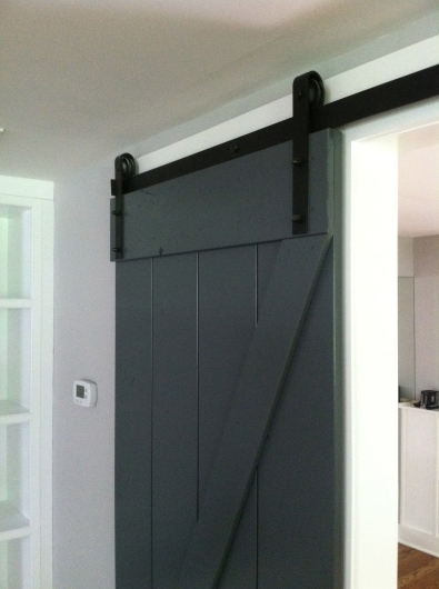 Barn Doors to Home Gym